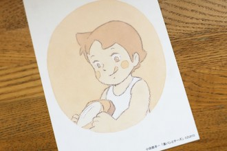 小田部羊一が描く「アルプスの少女ハイジ」の世界展