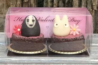 白髭のシュークリーム工房 バレンタインケーキ