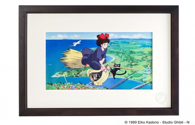 Cel Art Print From Studio Ghibli 魔女の宅急便