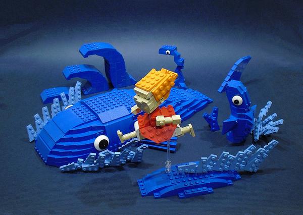 レゴ 崖の上のポニョ
