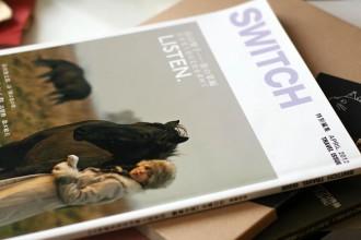 「SWITCH」特別編集号 LISTEN 山口智子 旅の掌編