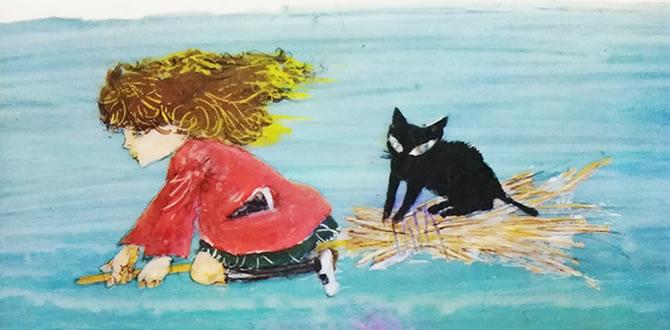 メアリと魔女の花 原作小説『The Little Broomstick』