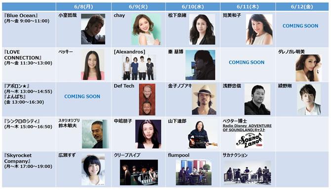 「TOKYO FMナツウタ セレクター2015 Early Summer Ver.」