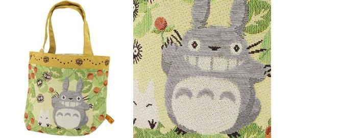 トトロのゴブラン織りバッグ