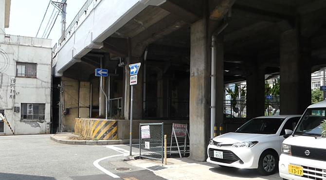 ジブリ旅 阪急電鉄の高架下