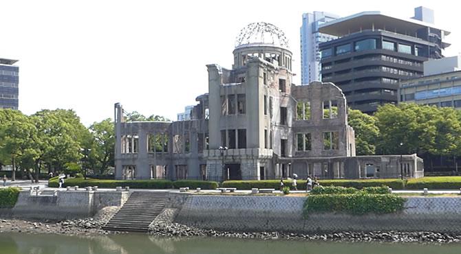ジブリ旅 原爆ドーム
