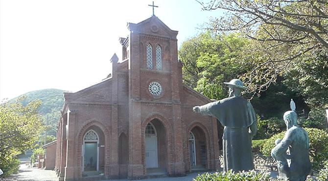 ジブリ旅 堂崎教会