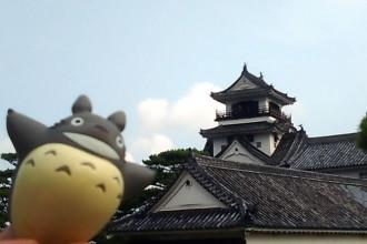 ジブリ旅 高知城