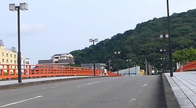 ジブリ旅 高知 天神大橋