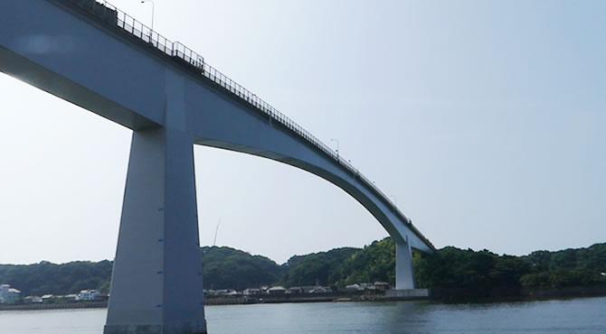 ジブリ旅 高知 浦戸大橋