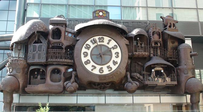 東京十社めぐり 日テレ大時計