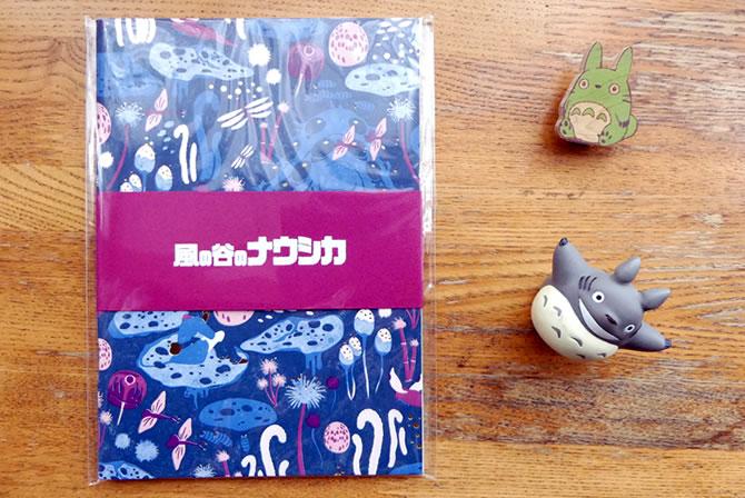 アニメージュとジブリ展 活版印刷ノート