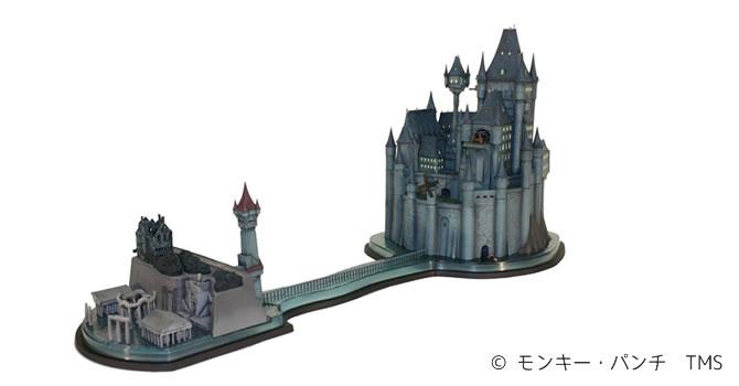 空想物件検証録 1/2000 『ルパン三世 カリオストロの城』