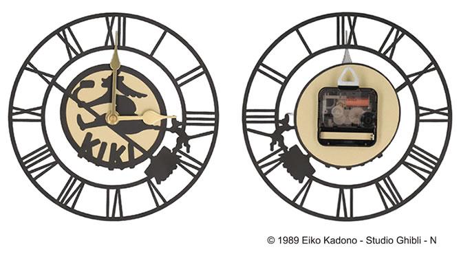魔女の宅急便 キキの看板壁かけ時計