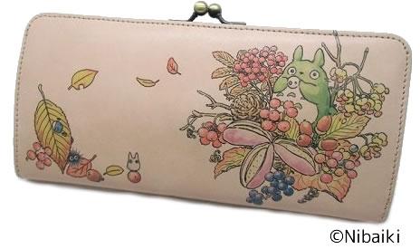 『となりのトトロ』アートレザー がま口財布