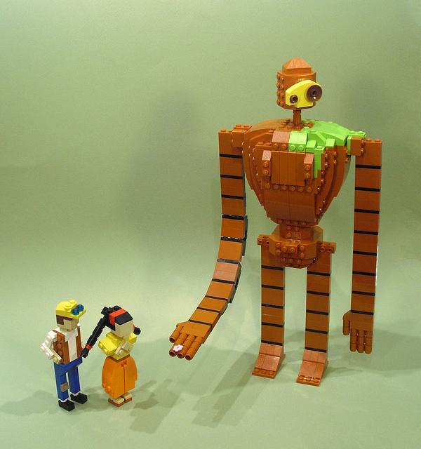 レゴ パズー シータ ロボット兵