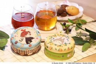 スタジオジブリ ルピシア茶葉缶