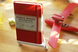 PORCO ROSSO MOLESKINE