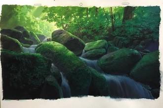 西川洋一 背景美術