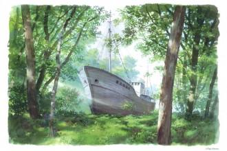 この船を描こう 森の福竜丸  男鹿和雄とこどもたちの絵