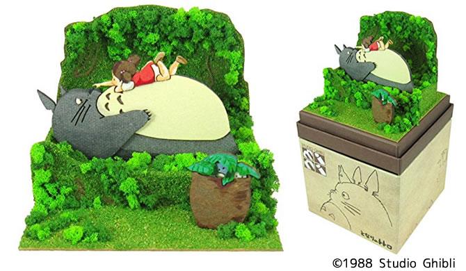 ペーパークラフト スタジオジブリ mini」『となりのトトロ』