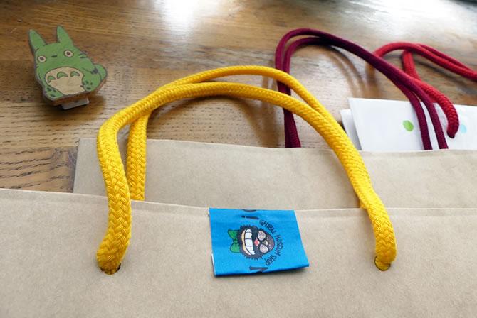 ジブリ美術館 手提げ袋 ショッパー