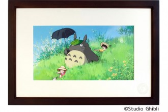 Cel Art Print From Studio Ghibli となりのトトロ