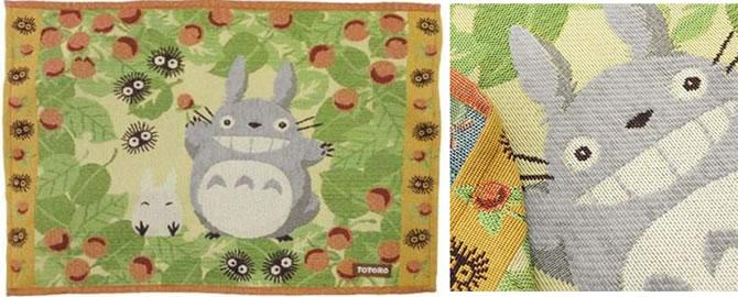 トトロのゴブラン織りランチョンマット