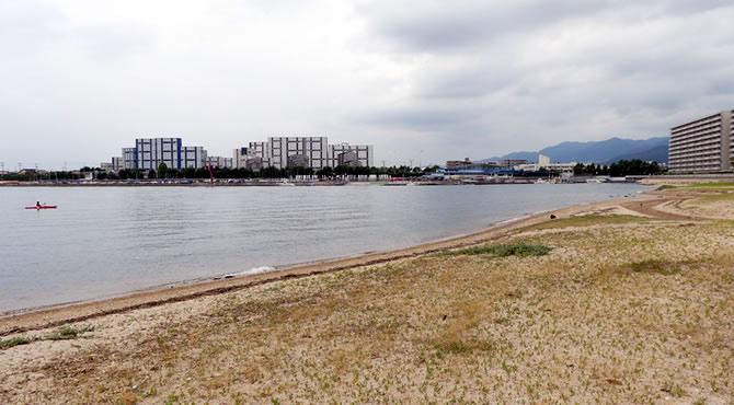 ジブリ旅 香露園浜