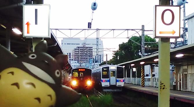 ジブリ旅 長崎駅