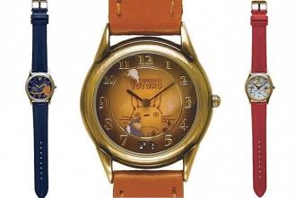 スタジオジブリ回転腕時計