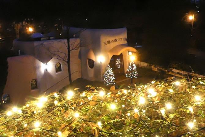 ジブリ美術館 クリスマス
